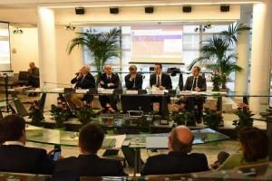 26 aprile 2016, firma della convenzione per trasferire la ex SS296 dalla regione Lazio all'Anas