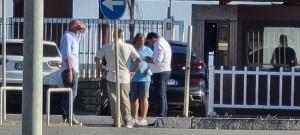 Alessandro IEVA mentre confabula con gli organizzatori (4 giugno 2021)
